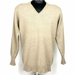 Sir Pendleton V-neck Sweater S 100% Cashmere
